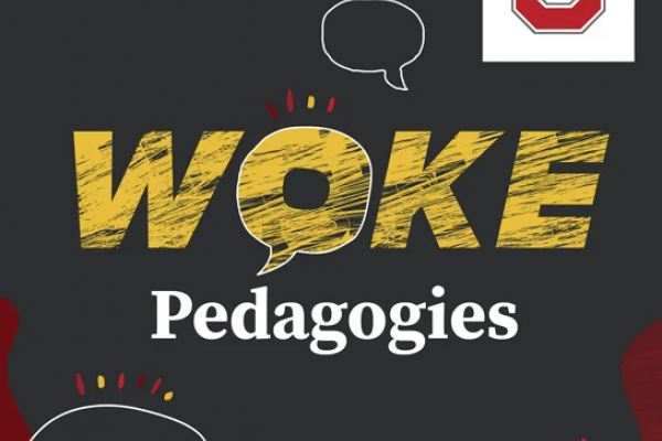 woke pedagogies podcast graphic